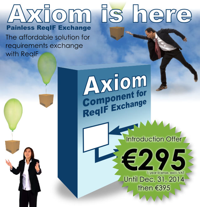 Axiom - The affordable solution for requirements exchange with ReqIF