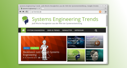 New Blog launched: Systems Engineering Trends